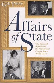 Cover of: Affairs of state | Gil Troy