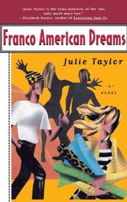 Cover of: Franco American dreams