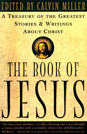 The Book of Jesus by Calvin Miller