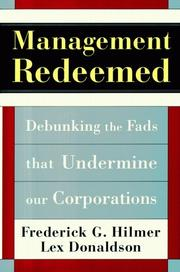 Cover of: Management redeemed