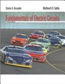 Cover of: Fundamentals of electric circuits | Charles K. Alexander