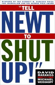 Cover of: Tell Newt to shut up!