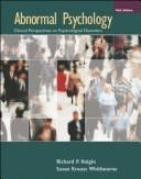 Abnormal Psychology by Richard P. Halgin