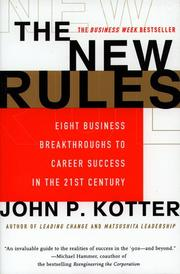 Cover of: The New Rules | John P. Kotter