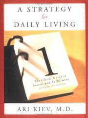 Cover of: A strategy for daily living