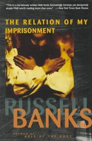 Cover of: The relation of my imprisonment