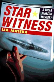 Cover of: Star witness | Lia Matera