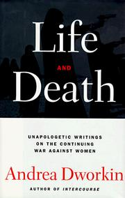 Cover of: Life and Death