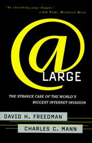 Cover of: At Large | David H. Freedman
