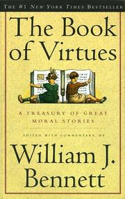 Cover of: The BOOK OF VIRTUES | William J. Bennett