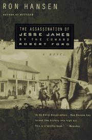 Cover of: The Assassination of Jesse James by the Coward Robert Ford
