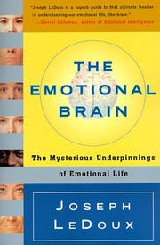 Cover of: The Emotional Brain | Joseph Ledoux