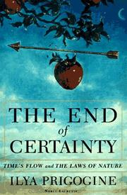Cover of: The end of certainty