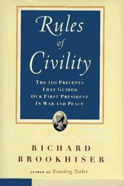 Cover of: Rules of civility | George Washington