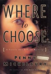 Cover of: Where to choose by