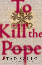 Cover of: To kill the Pope