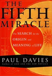 Cover of: The fifth miracle