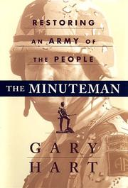 Cover of: The minuteman: restoring an army of the people