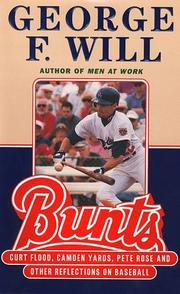 Cover of: Bunts | Will, George F.