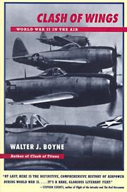 Cover of: CLASH OF WINGS | Walter J. Boyne