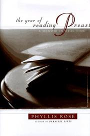 Cover of: The year of reading Proust