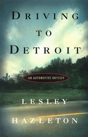 Cover of: Driving to Detroit