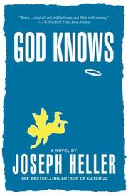 Cover of: God knows | Joseph Heller