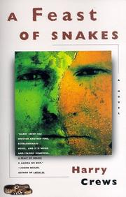 Cover of: A feast of snakes