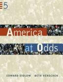 Cover of: America at odds | Edward Sidlow