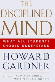 Cover of: The disciplined mind