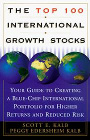 Cover of: The top 100 international growth stocks
