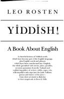 Cover of: Hooray for Yiddish!: A Book About English