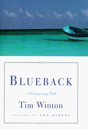 Cover of: Blueback