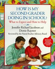 Cover of: How is my second grader doing in school? | Jennifer Jacobson