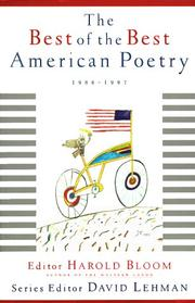 Cover of: The Best of the Best American Poetry: 1988-1997