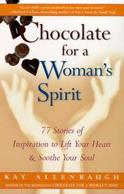 Cover of: Chocolate for a Woman's Spirit | Kay Allenbaugh