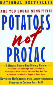 Potatoes Not Prozac by Kathleen DesMaisons