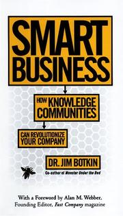 Cover of: Smart Business | Jim Botkin