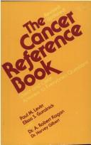 Cover of: Cancer reference book | Paul M. Levitt