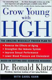 Cover of: Grow Young with HGH