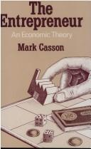 The entrepreneur by Mark Casson