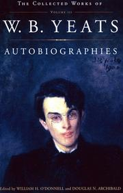 Cover of: Autobiographies: Reveries over childhood and youth and The trembling of the veil