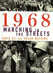 Cover of: 1968--marching in the streets