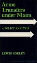 Cover of: Arms transfers under Nixon