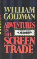 Cover of: Adventures in the screen trade