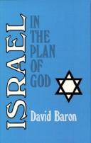Cover of: Israel in the Plan of God