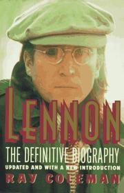 Cover of: Lennon | Ray Coleman