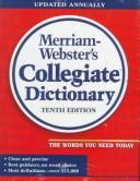 Cover of: Webster's ninth new collegiate dictionary. by