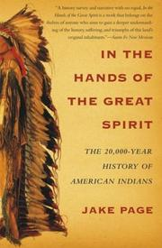 Cover of: In the Hands of the Great Spirit: The 20,000-Year History of American Indians
