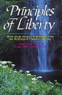Cover of: Principles of liberty